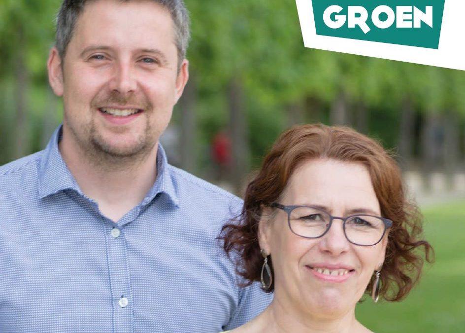 Katia Van den Broucke et Thibault Wauthier Echevins Ecolo-Groen Schepenen